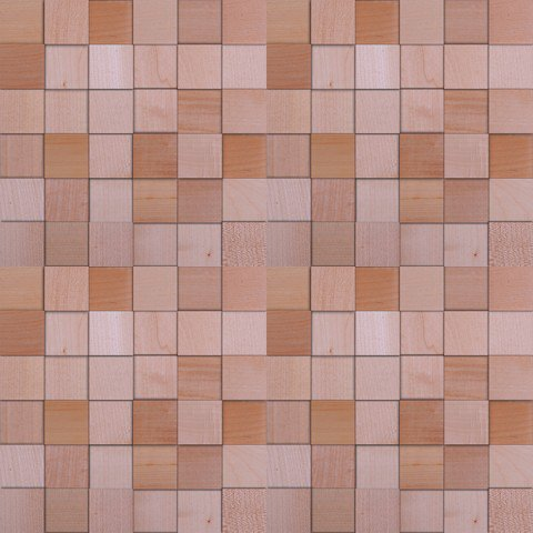 Мозаика и 3D панели из дерева Da Vinci Клён 086