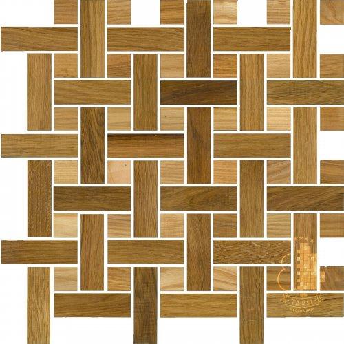 Мозаика и 3D панели из дерева Tarsi 2D512