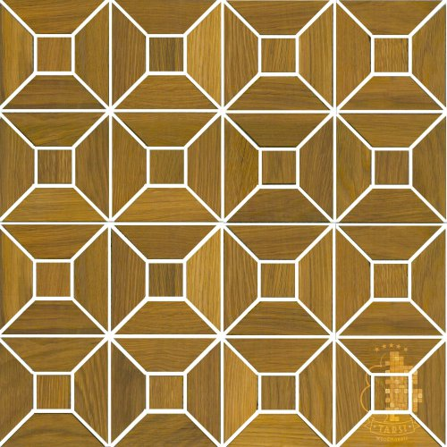 Мозаика и 3D панели из дерева Tarsi 608