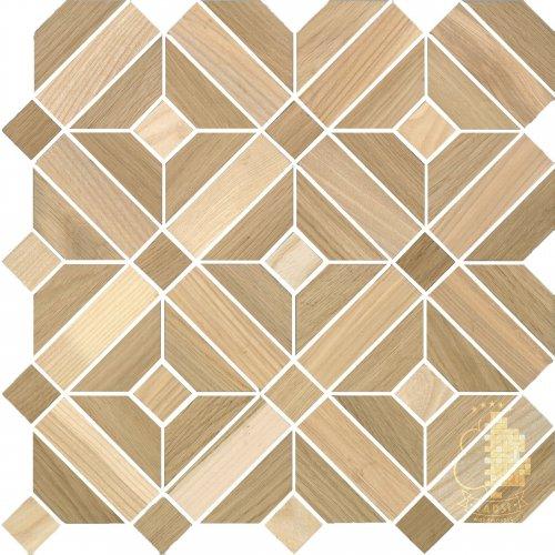 Мозаика и 3D панели из дерева Tarsi 2D711