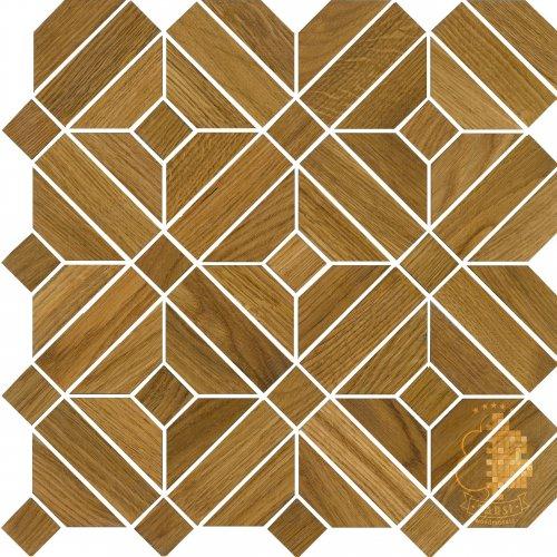 Мозаика и 3D панели из дерева Tarsi 702