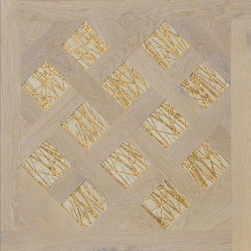 Модульный паркет Da Vinci с мозаикой 26-006-00472
