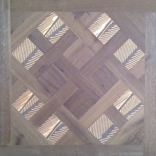 Модульный паркет Da Vinci с мозаикой 26-006-00475