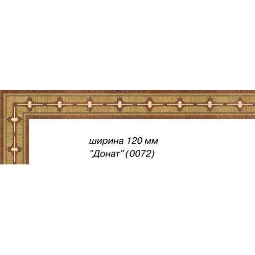 Художественный паркетный бордюр Da Vinci 26-020