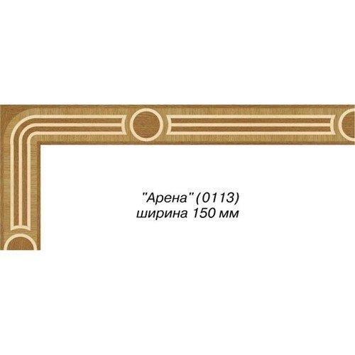 Художественный паркет Da Vinci паркетный бордюр 26-025