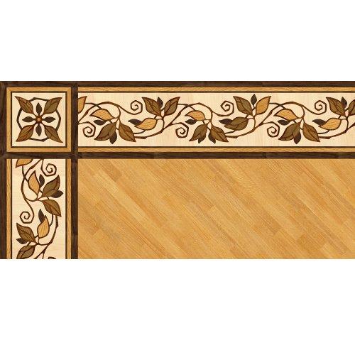 Художественный паркетный бордюр Da Vinci 26-133