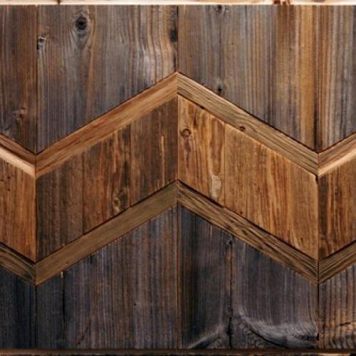 Амбарная доска Flitch Design Панно из старого дерева RN03