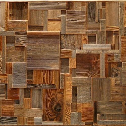 Амбарная доска Flitch Design Панно из старого дерева RN13