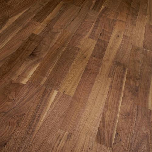 Штучный паркет Magestik floor Орех Американский Селект без покрытия