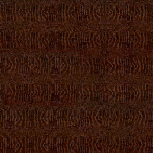 Кожаный пол CorkStyle Kroko Redbrown