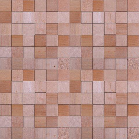 Мозаика и 3D панели из дерева Da Vinci Клён