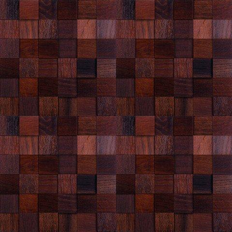 Мозаика и 3D панели из дерева Da Vinci Дуб термо 087