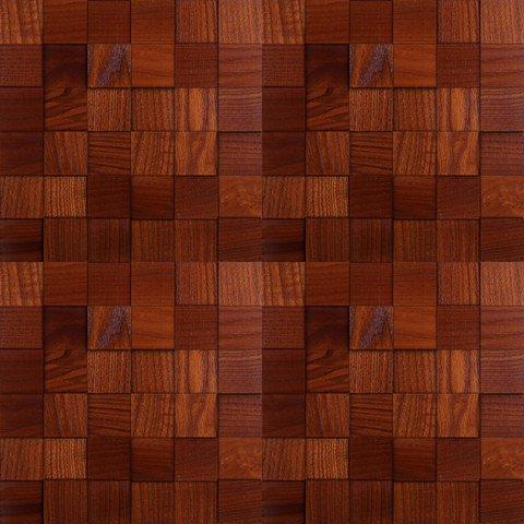 Мозаика и 3D панели из дерева Da Vinci Ясень Термо 088