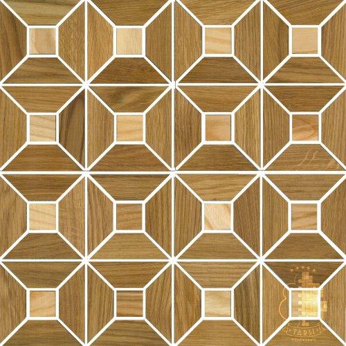 Мозаика и 3D панели из дерева Tarsi 2D612