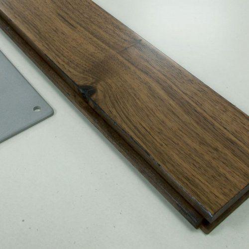 Штучный паркет Magestik floor Орех Американский Натур 420*70*22мм под лаком с фасками