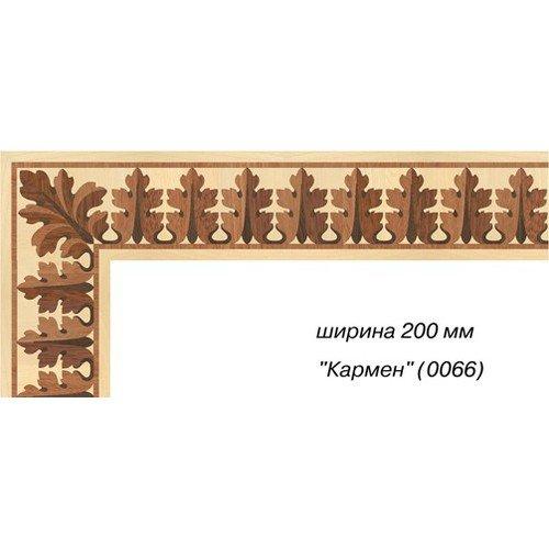 Художественный паркетный бордюр Da Vinci 26-019