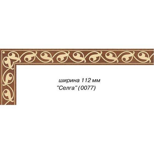 Художественный паркетный бордюр Da Vinci 26-021