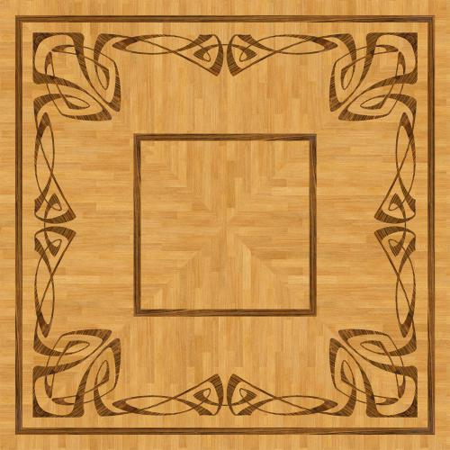 Художественный паркет Da Vinci Розетка 26-048